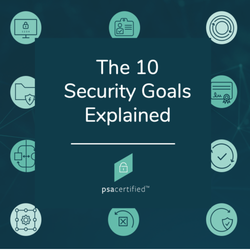 The 10 Security Goals Explained