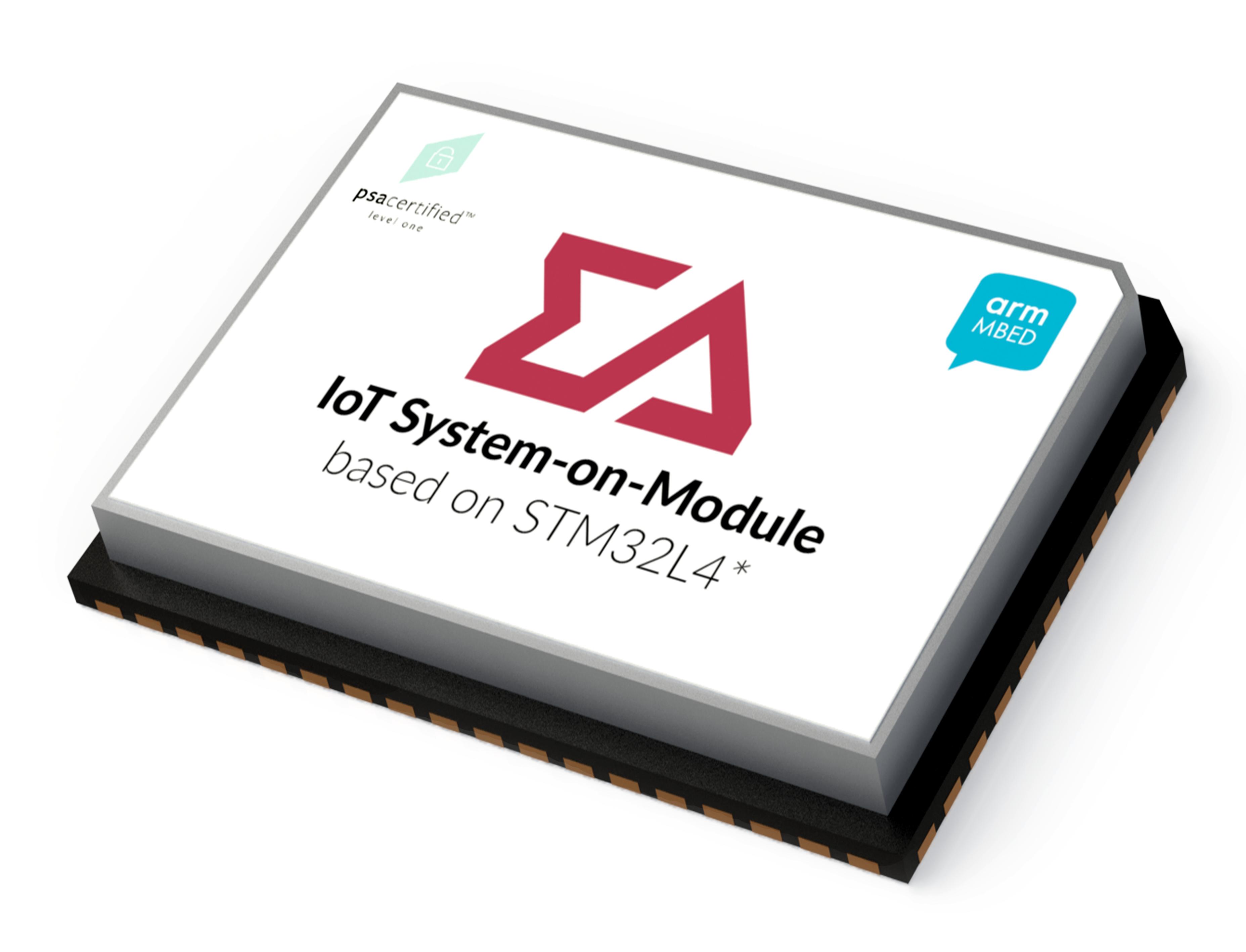IoT system-on-module (SOM) based on STM32L4