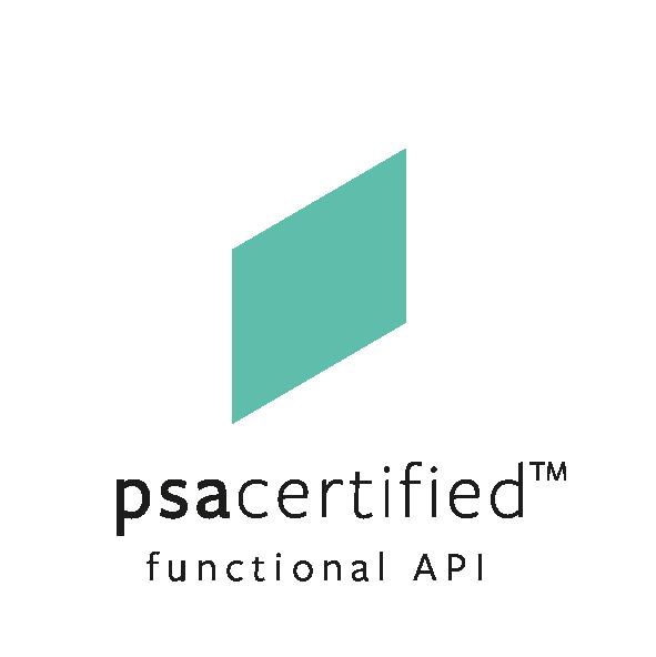 PSA Certified Functional API