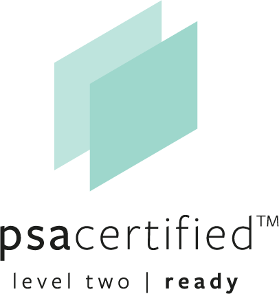 PSA Certified Level Two Ready logo