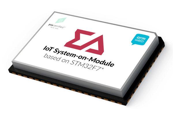 SOM based on STM32F7