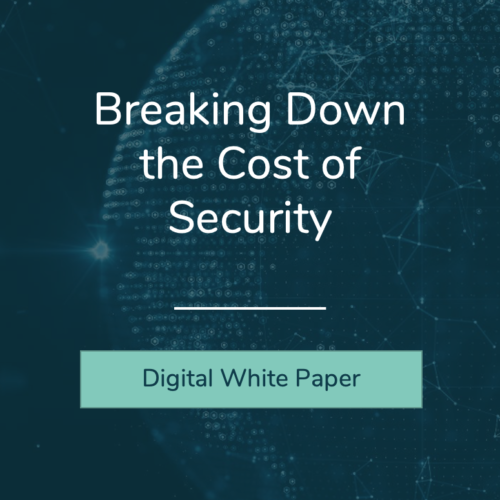 Breaking down the cost of security