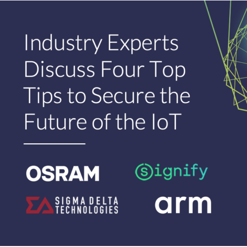 Industry experts discuss four top tips to secure the future of the IoT