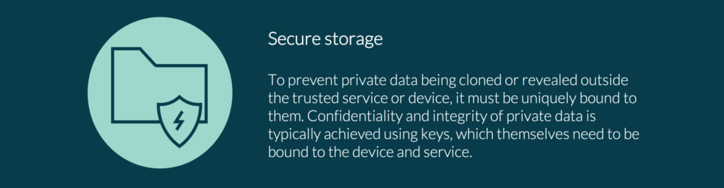 The PSA Certified Secure Storage Goal