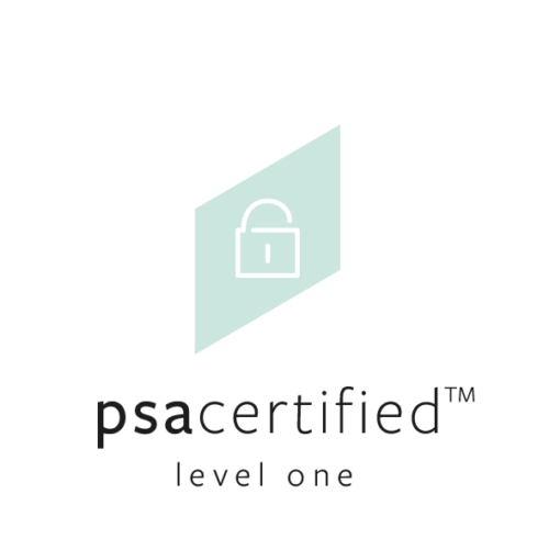 PSA Certified Level 1 ensures basic security principles have been applied