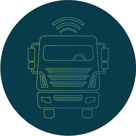 The connected supply chain ensures the smooth and efficient movement of goods.