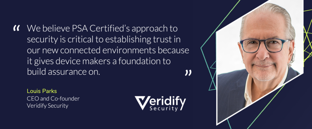 Louis Parks (CEO @ Veridify) shares his thoughts on PSA Certified