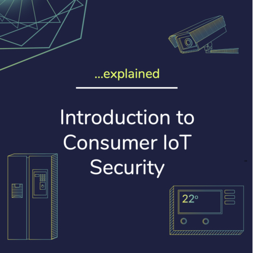 Introduction to Consumer Iot Security