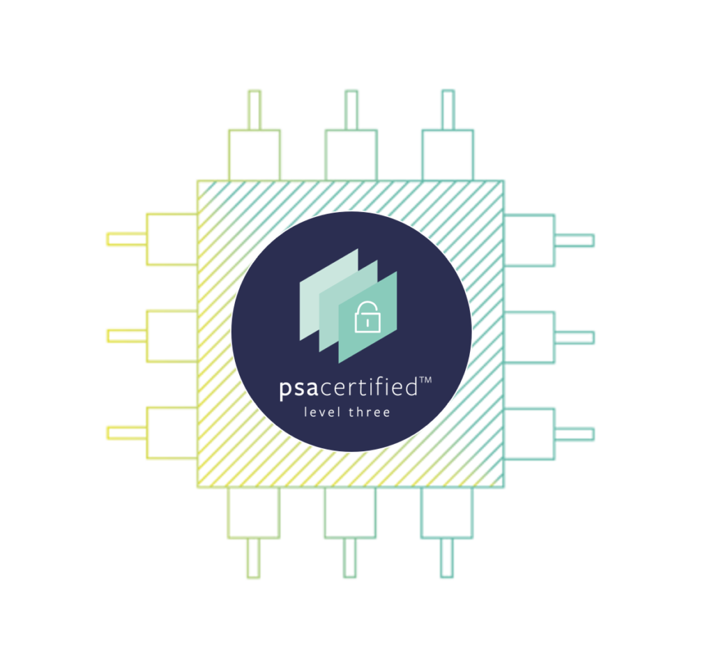 As well as helping to protect against scalable software attacks, PSA Certified Level 3 chips also help mitigate physical attacks such as clock or power glitch attacks.